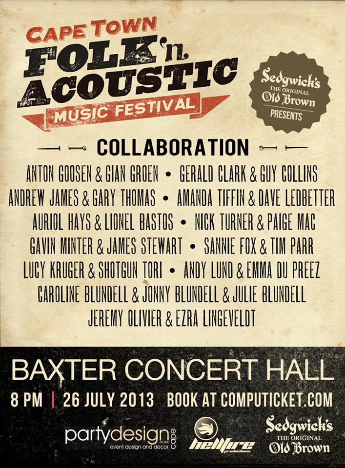 Folk Acoustic Festival Baxter